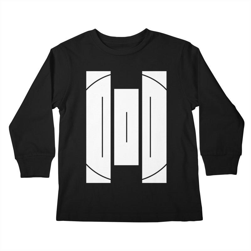 The Onset | BlackBar White Kids Longsleeve T-Shirt by Macy McKinzie