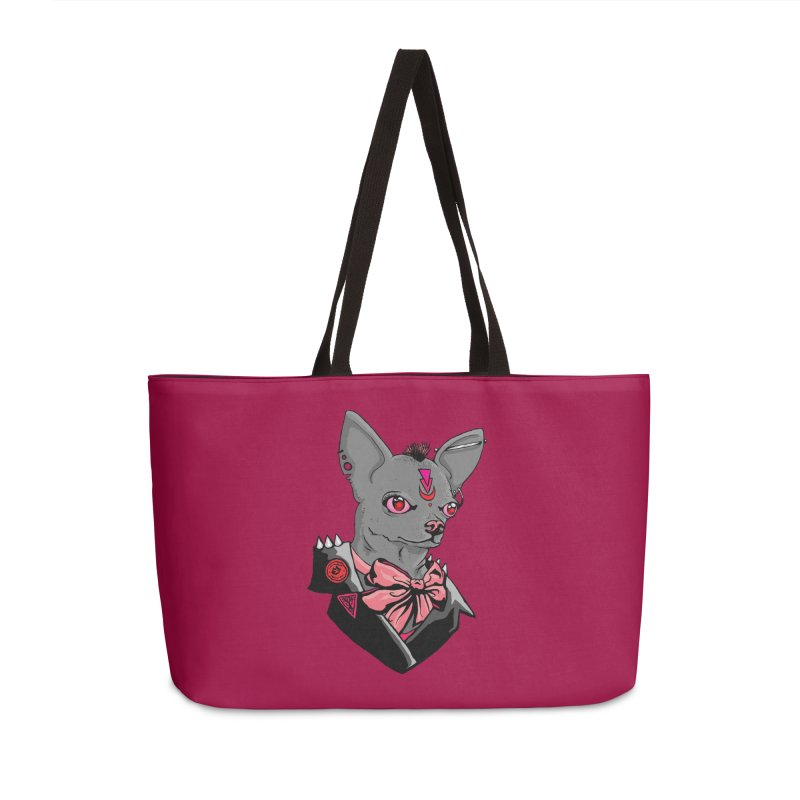 Sub-Nature: Bea Accessories Weekender Bag Bag by madamewolfgang's Artist Shop