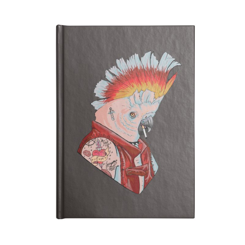 Sub- Nature: Ace Accessories Blank Journal Notebook by madamewolfgang's Artist Shop