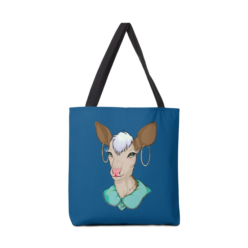 Sub-Nature: Tilly Accessories Tote Bag Bag by madamewolfgang's Artist Shop
