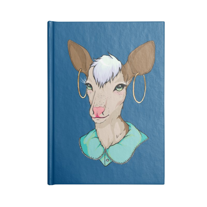 Sub-Nature: Tilly Accessories Lined Journal Notebook by madamewolfgang's Artist Shop