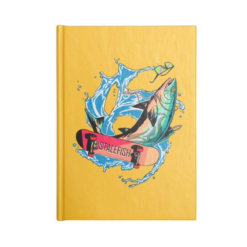 STALEFISH Accessories Blank Journal Notebook by madamewolfgang's Artist Shop