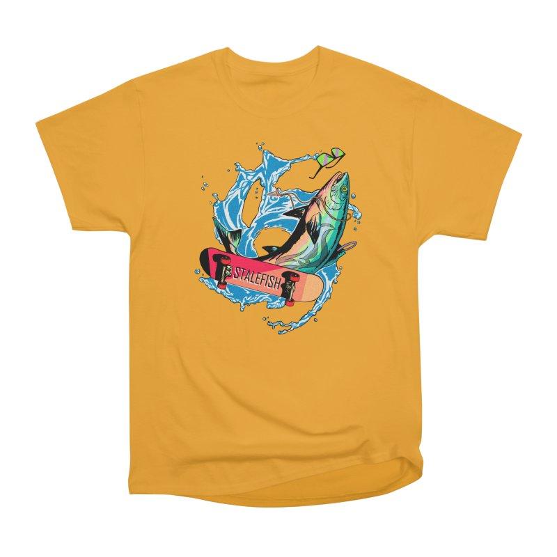 STALEFISH Men's Heavyweight T-Shirt by madamewolfgang's Artist Shop