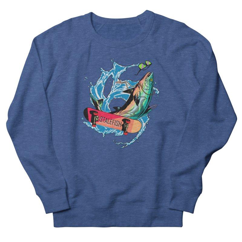 STALEFISH Women's French Terry Sweatshirt by madamewolfgang's Artist Shop