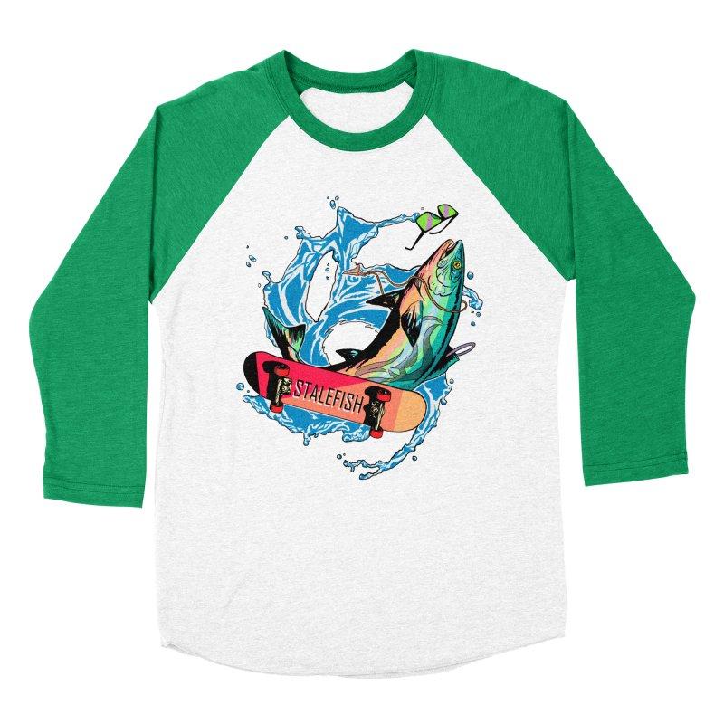 STALEFISH Women's Baseball Triblend Longsleeve T-Shirt by madamewolfgang's Artist Shop