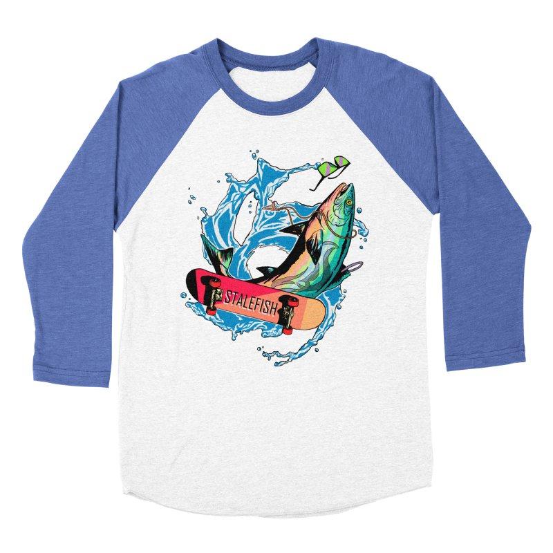 STALEFISH Men's Baseball Triblend Longsleeve T-Shirt by madamewolfgang's Artist Shop