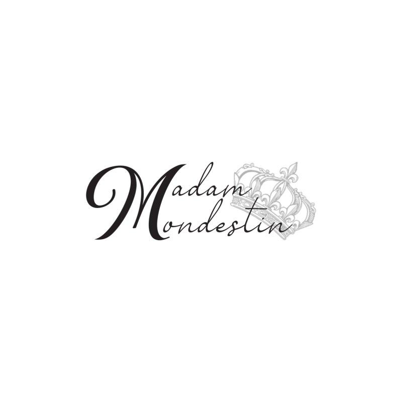 Madam Mondestin Logo Decal - Black Accessories Sticker by madammondestin's Artist Shop