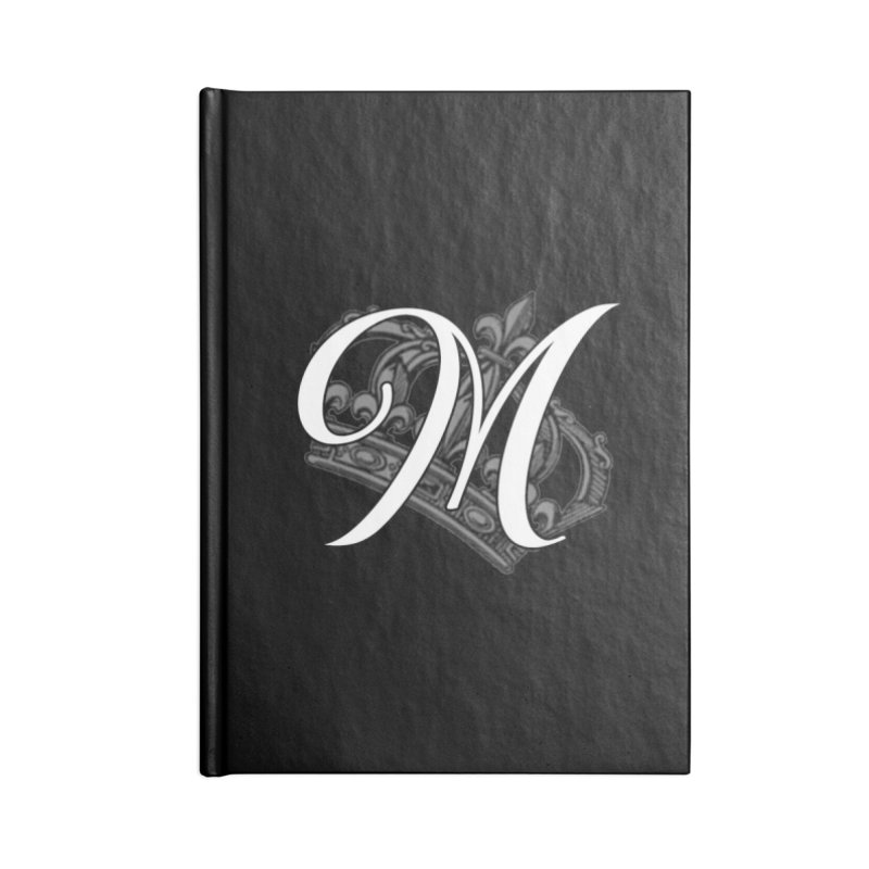Madam Mondestin - Monogram Journal Accessories Notebook by madammondestin's Artist Shop