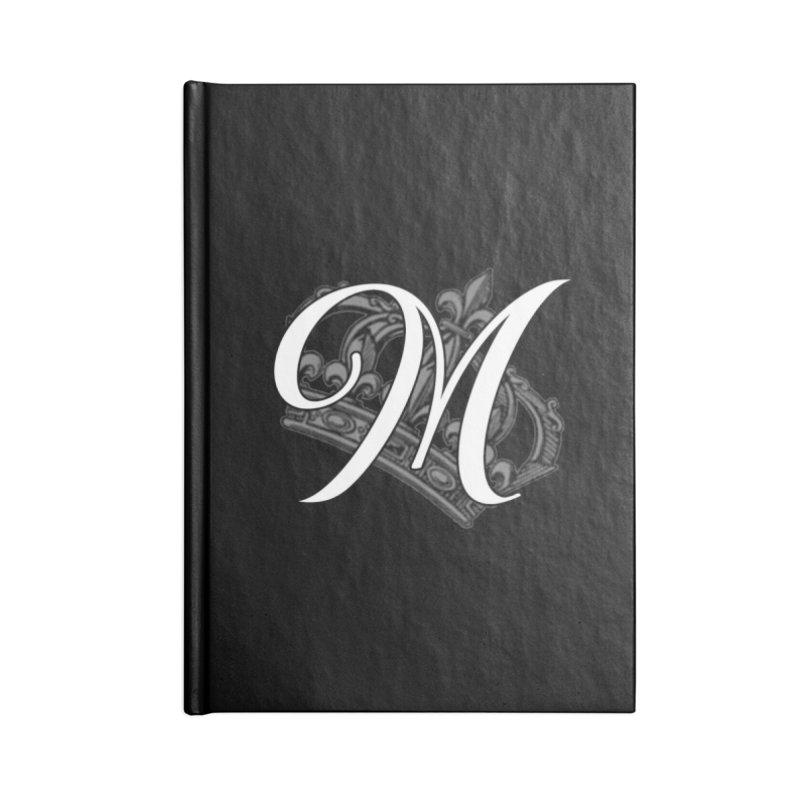 Madam Mondestin - Monogram Journal Accessories Lined Journal Notebook by madammondestin's Artist Shop