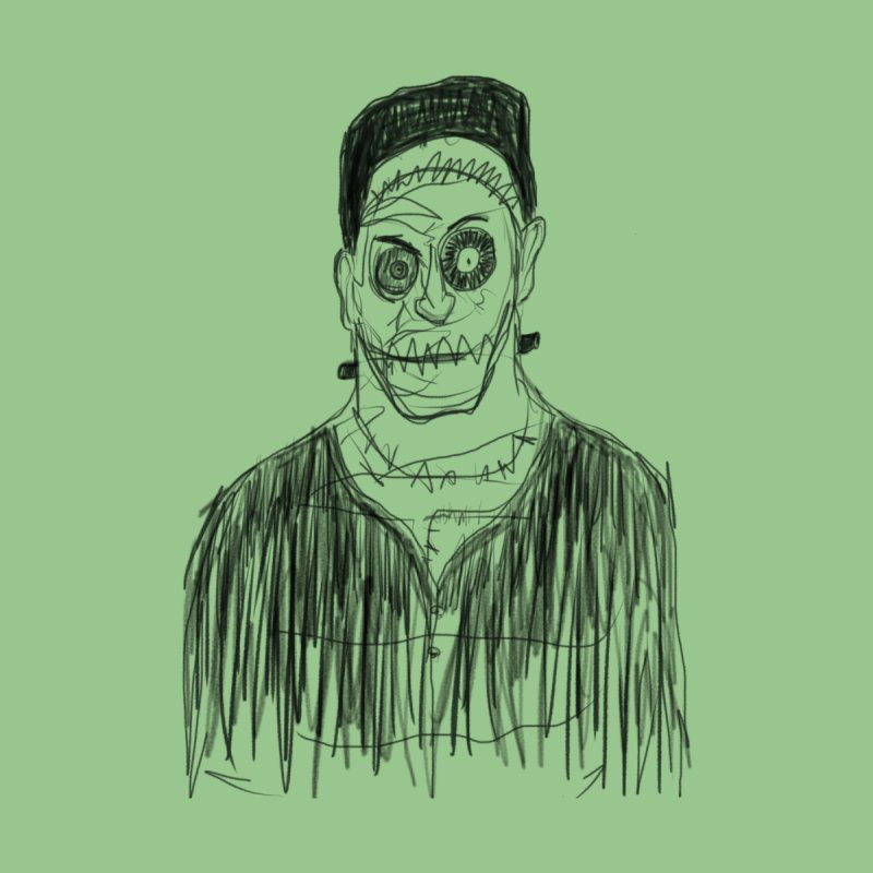 Frankenstein's Monster by Madboy Illustrations Artist Shop
