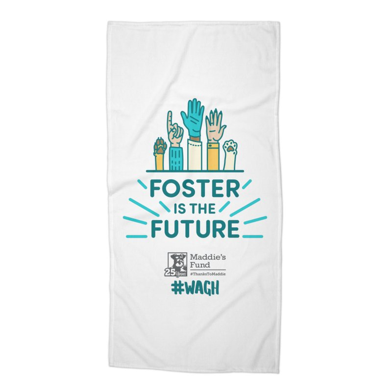 Foster is the Future Accessories Beach Towel by Maddie Shop