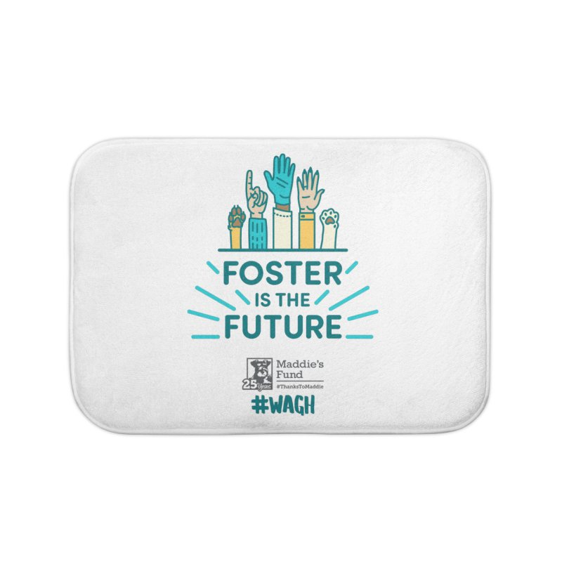 Foster is the Future Home Bath Mat by Maddie Shop