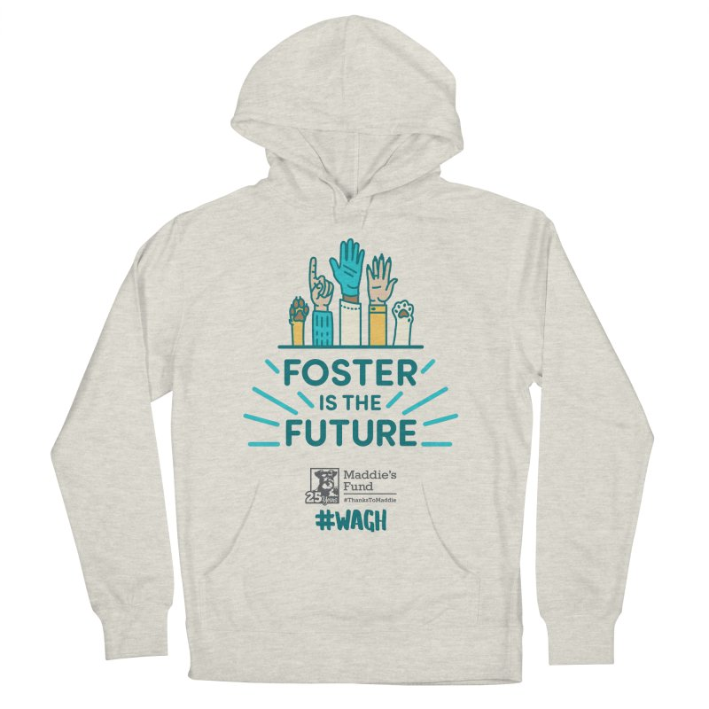Foster is the Future Men's French Terry Pullover Hoody by Maddie Shop