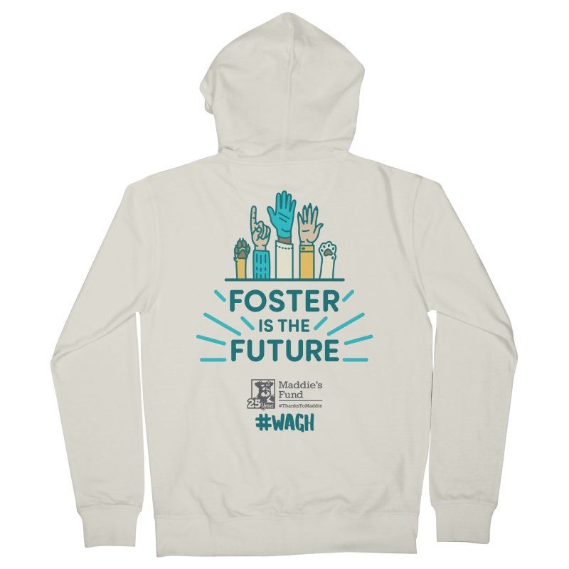 Foster is the Future Women's French Terry Zip-Up Hoody by Maddie Shop
