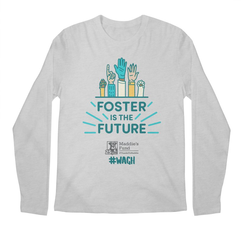 Foster is the Future Men's Regular Longsleeve T-Shirt by Maddie Shop