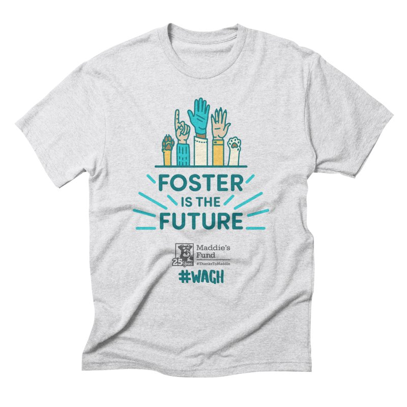 Foster is the Future Men's Triblend T-Shirt by Maddie Shop