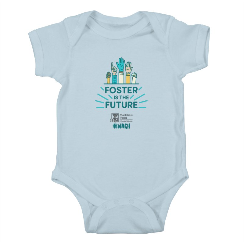 Foster is the Future Kids Baby Bodysuit by Maddie Shop