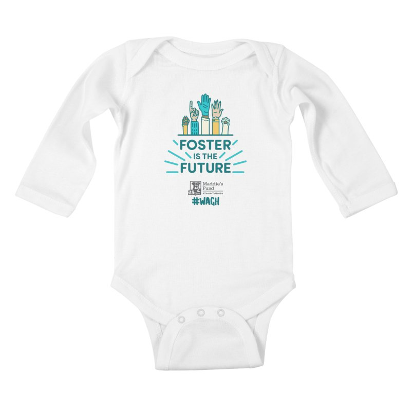 Foster is the Future Kids Baby Longsleeve Bodysuit by Maddie Shop