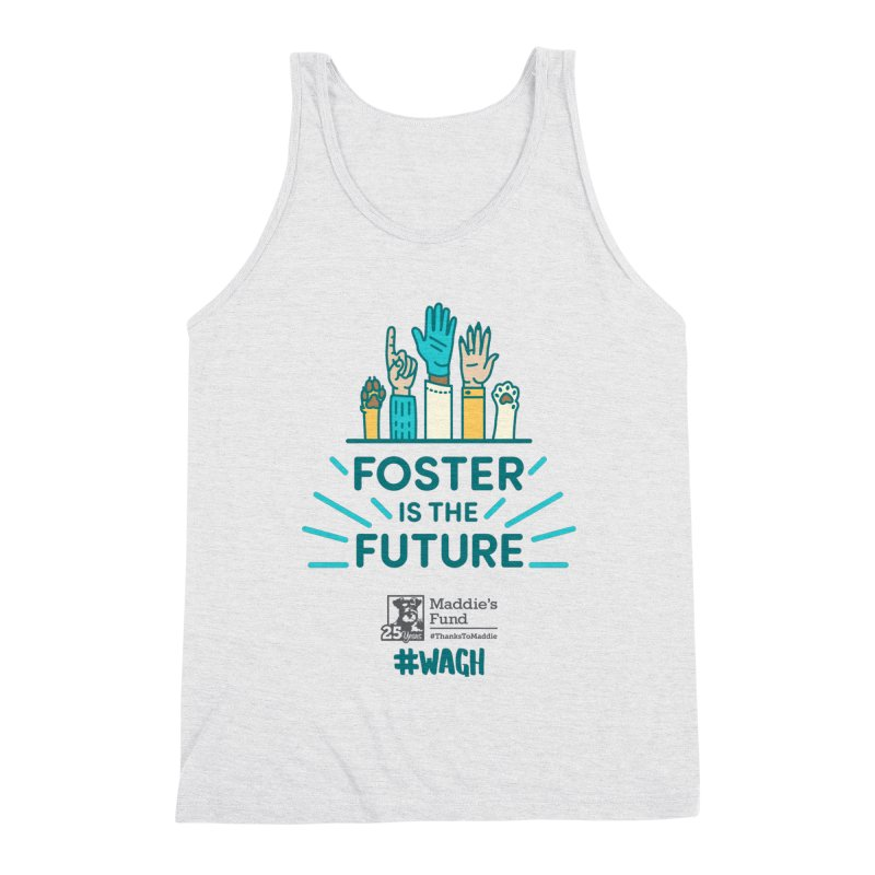 Foster is the Future Men's Triblend Tank by Maddie Shop