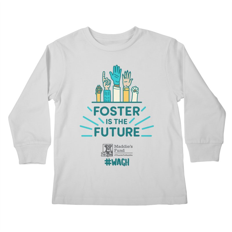 Foster is the Future Kids Longsleeve T-Shirt by Maddie Shop
