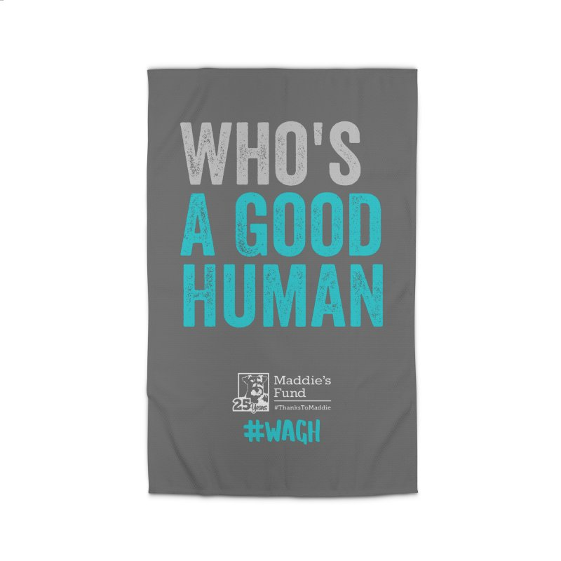 Who's a Good Human? Home Rug by Maddie Shop