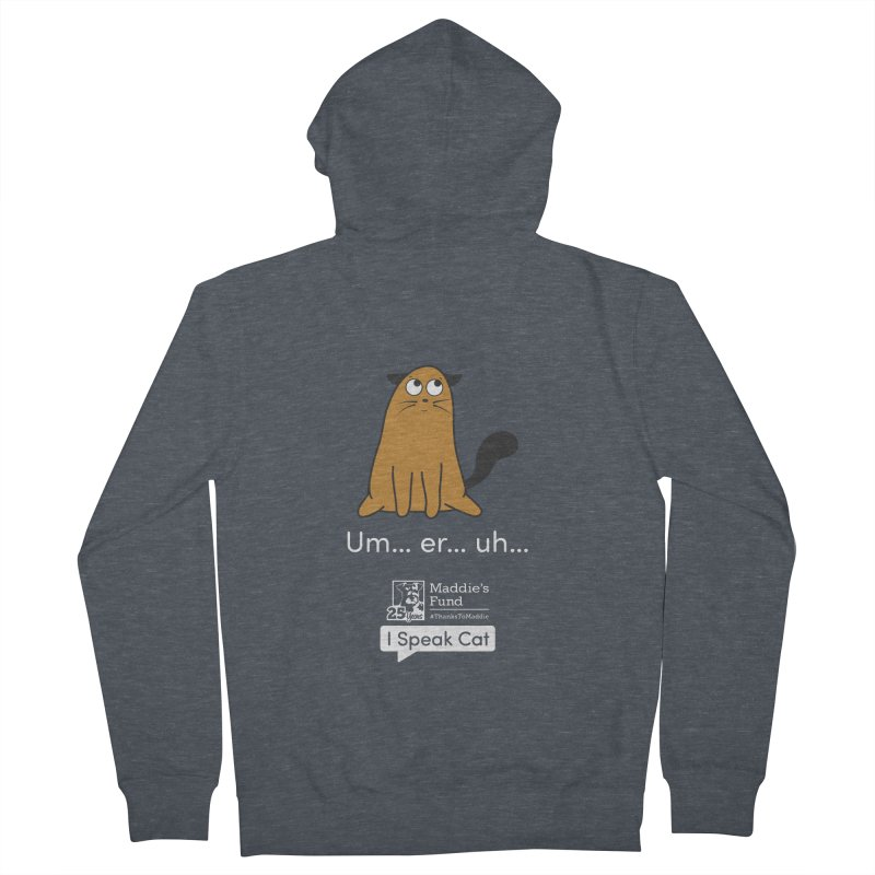 Airplane Ears Women's French Terry Zip-Up Hoody by Maddie Shop