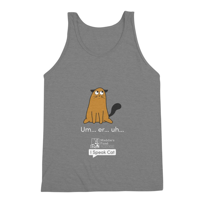 Airplane Ears Men's Triblend Tank by Maddie Shop