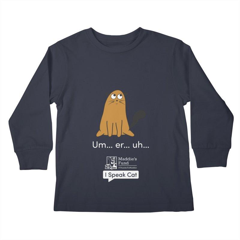Airplane Ears Kids Longsleeve T-Shirt by Maddie Shop