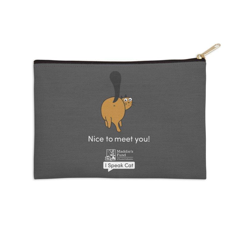 Butt Presentation Accessories Zip Pouch by Maddie Shop