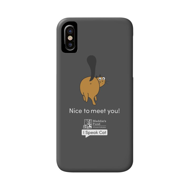 Butt Presentation Accessories Phone Case by Maddie Shop