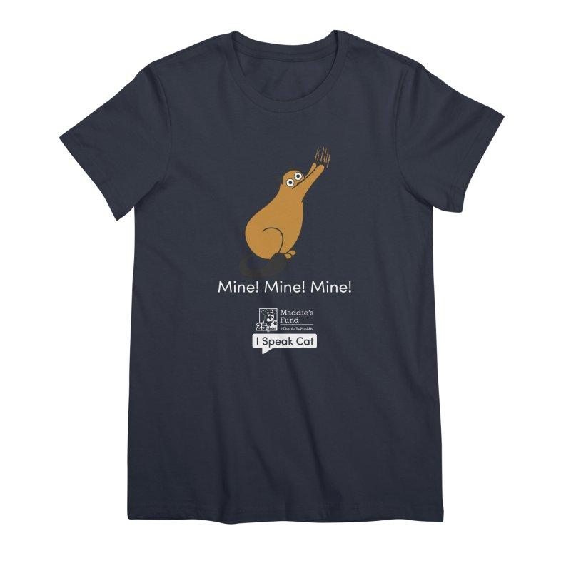 Scratching Women's Premium T-Shirt by Maddie Shop