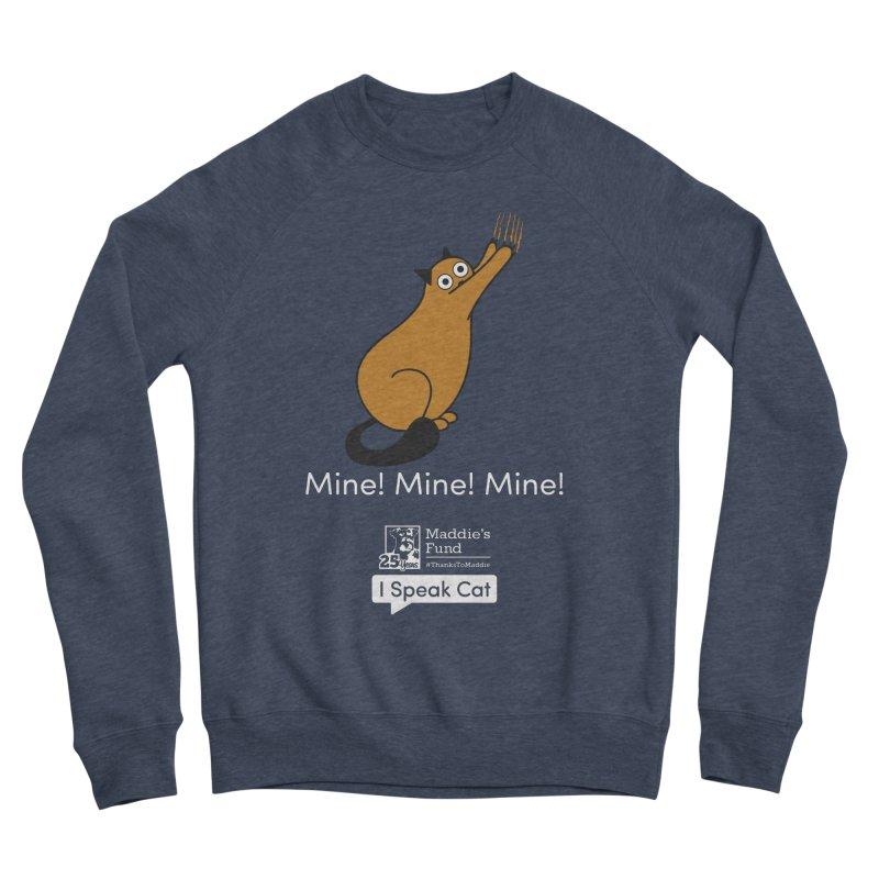 Scratching Men's Sponge Fleece Sweatshirt by Maddie Shop