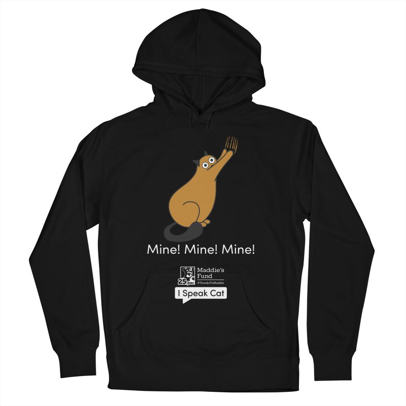 Scratching Men's French Terry Pullover Hoody by Maddie Shop