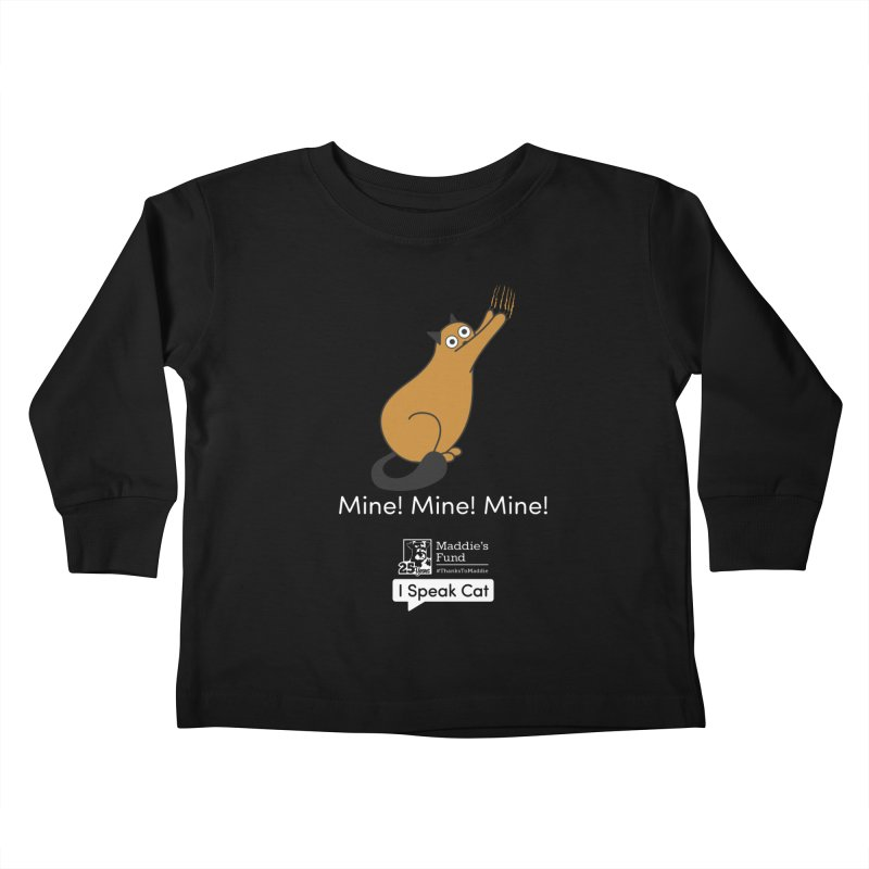 Scratching Kids Toddler Longsleeve T-Shirt by Maddie Shop