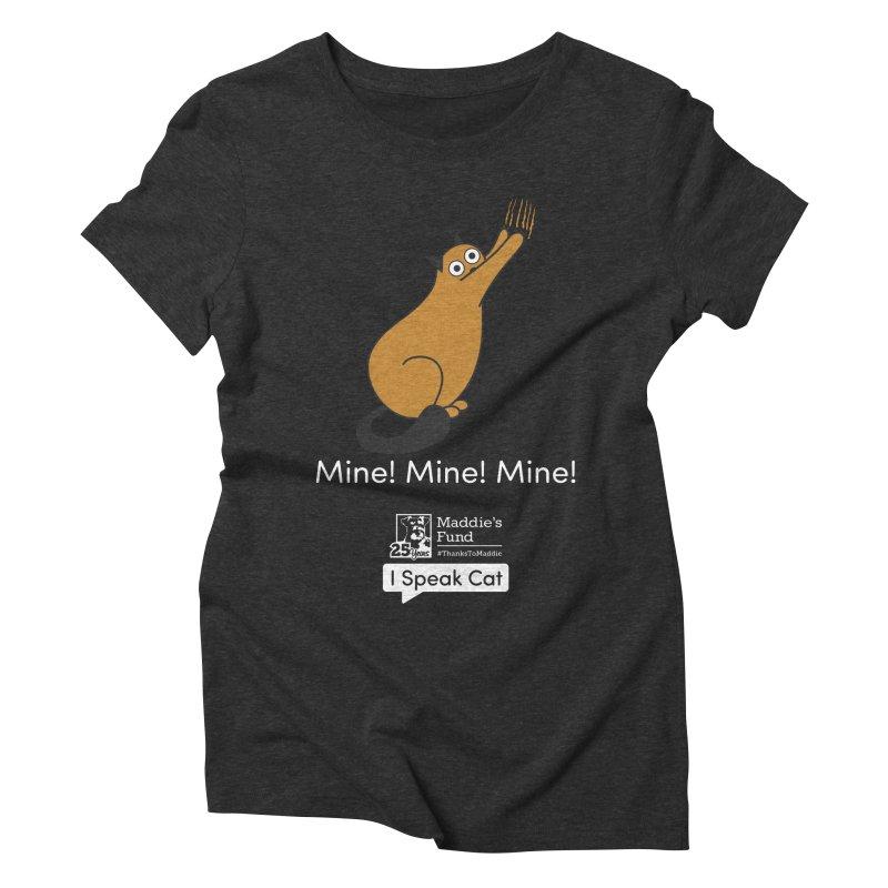 Scratching Women's Triblend T-Shirt by Maddie Shop