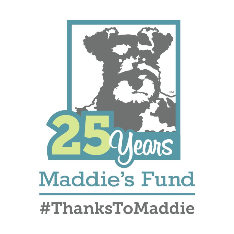 25th Anniversary Logo Light Colors by Maddie Shop