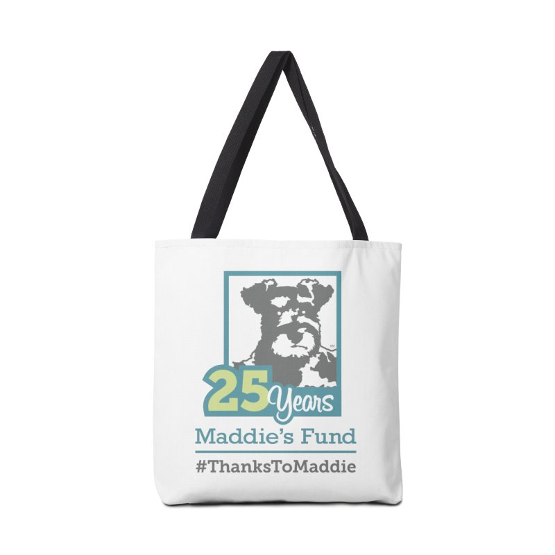 25th Anniversary Logo Light Colors Accessories Tote Bag Bag by Maddie Shop
