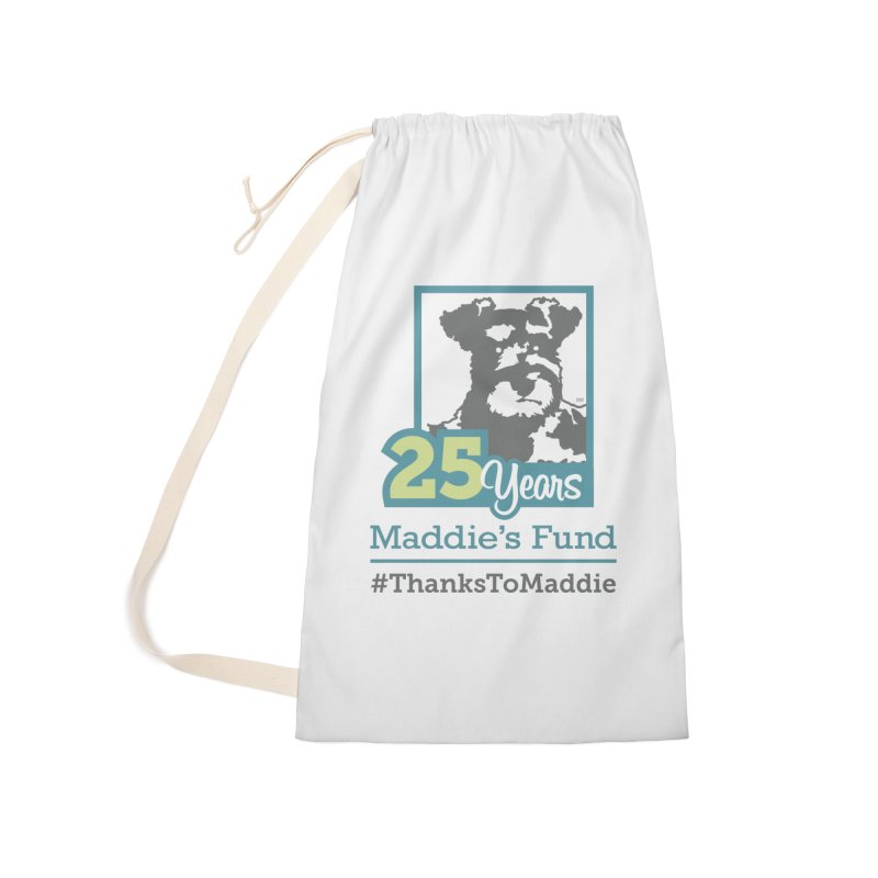 25th Anniversary Logo Light Colors Accessories Laundry Bag Bag by Maddie Shop