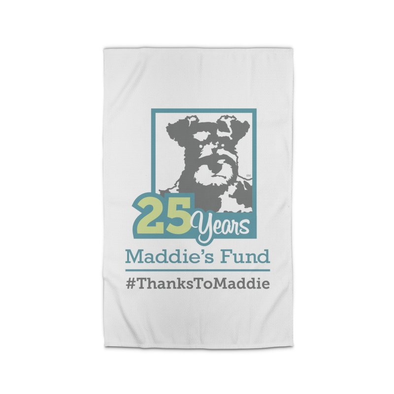25th Anniversary Logo Light Colors Home Rug by Maddie Shop