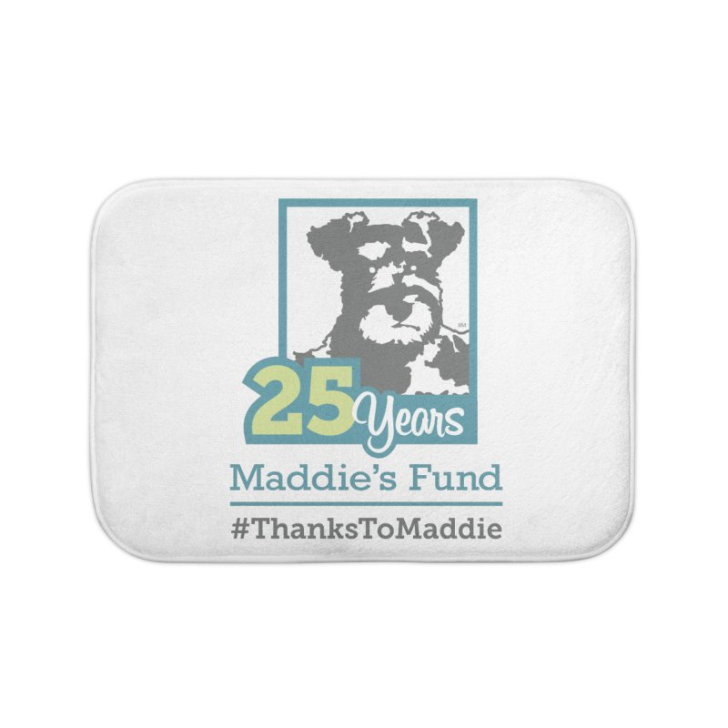 25th Anniversary Logo Light Colors Home Bath Mat by Maddie Shop