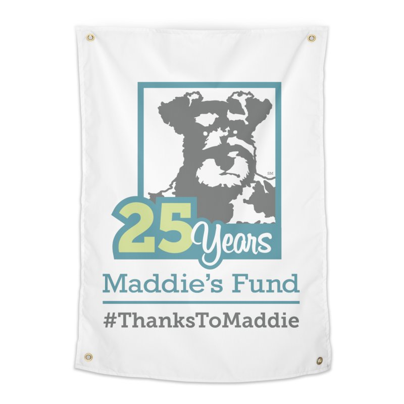 25th Anniversary Logo Light Colors Home Tapestry by Maddie Shop