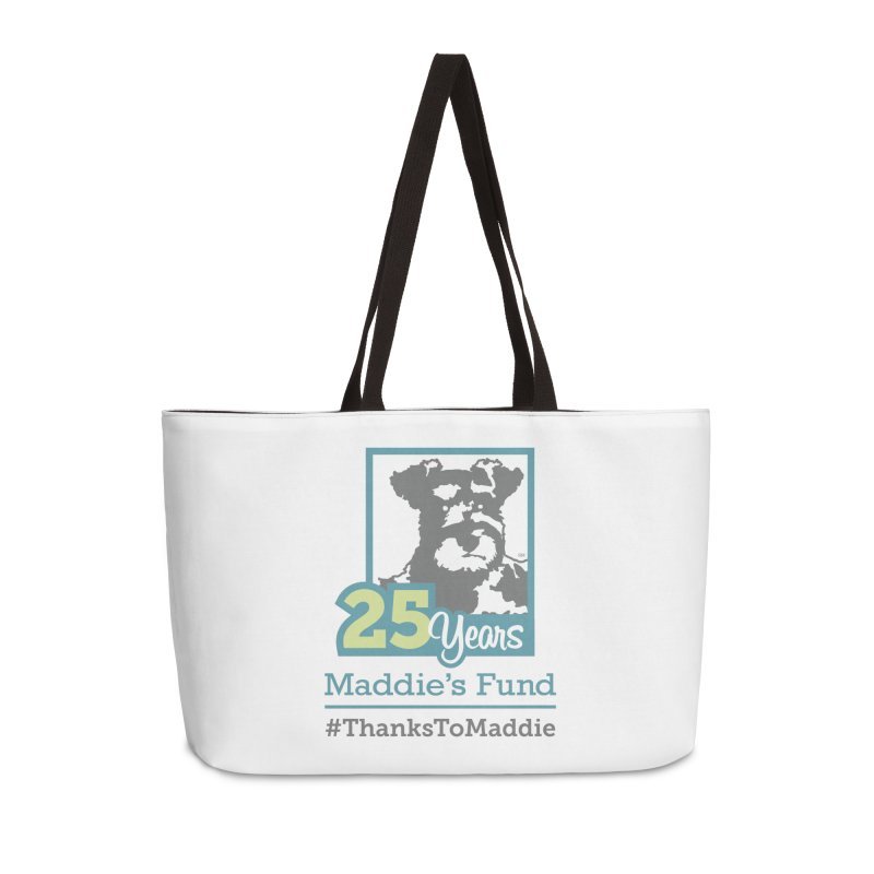 25th Anniversary Logo Light Colors Accessories Weekender Bag Bag by Maddie Shop
