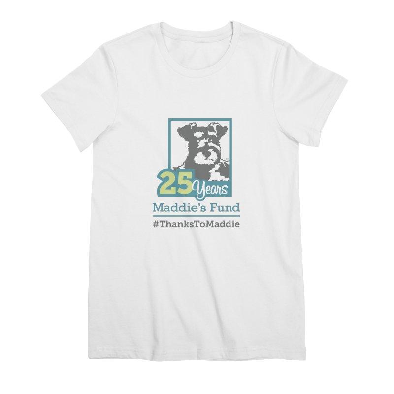 25th Anniversary Logo Light Colors Women's Premium T-Shirt by Maddie Shop