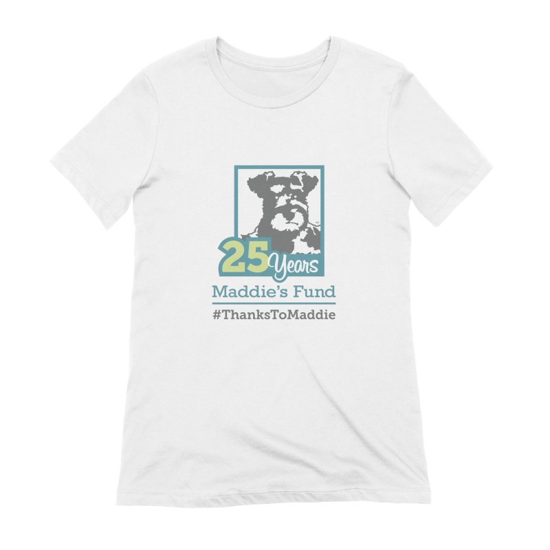 25th Anniversary Logo Light Colors Women's Extra Soft T-Shirt by Maddie Shop