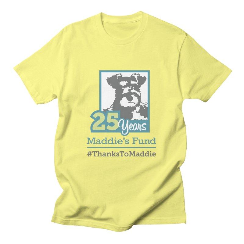 25th Anniversary Logo Light Colors Men's T-Shirt by Maddie Shop