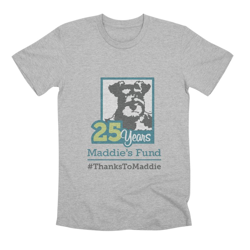 25th Anniversary Logo Light Colors Men's Premium T-Shirt by Maddie Shop
