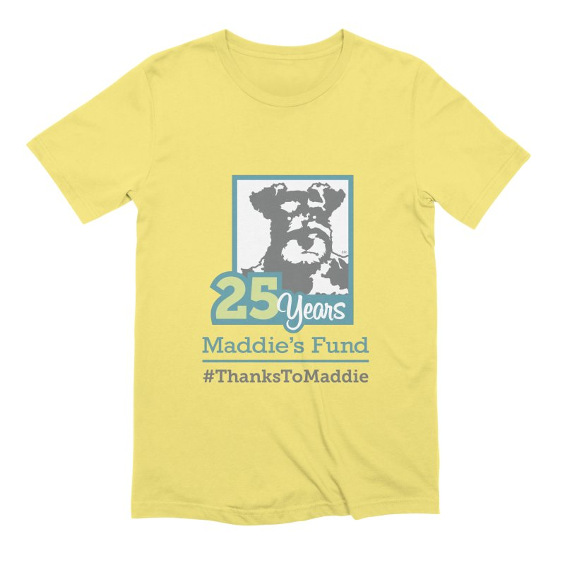 25th Anniversary Logo Light Colors Men's Extra Soft T-Shirt by Maddie Shop
