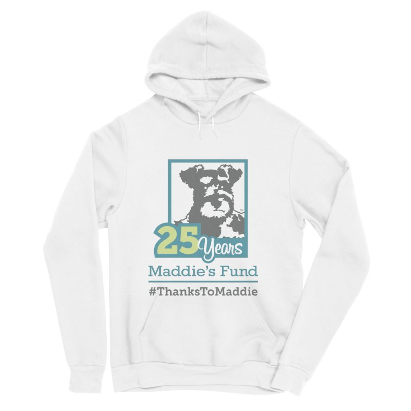 25th Anniversary Logo Light Colors Women's Sponge Fleece Pullover Hoody by Maddie Shop