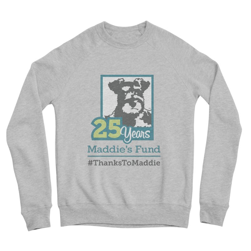 25th Anniversary Logo Light Colors Men's Sponge Fleece Sweatshirt by Maddie Shop