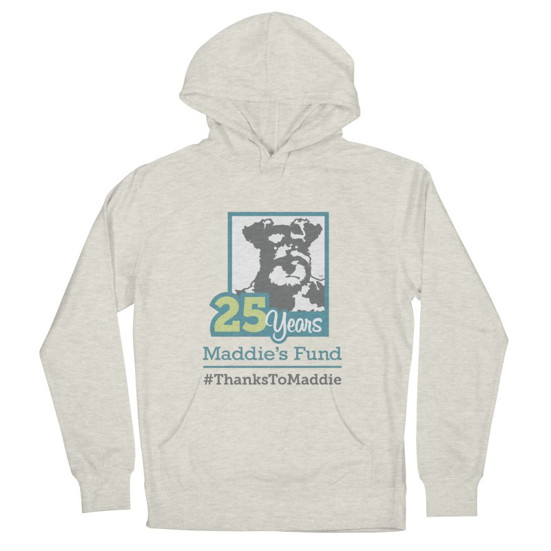 25th Anniversary Logo Light Colors Women's French Terry Pullover Hoody by Maddie Shop